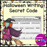 Halloween Secret Code Writing