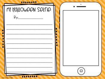 Halloween Selfie Activity & Banner