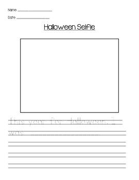 Halloween Selfie Prompt