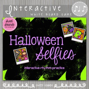 Halloween Selfies Syncopa {Interactive Rhythm Game}