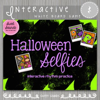 Halloween Selfies Ta Rest {Interactive Rhythm Game}