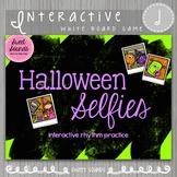 Halloween Selfies Taah Half Note {Interactive Rhythm Game}