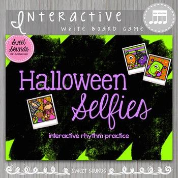 Halloween Selfies Takadimi Tikatika Tiritiri {Interactive Rhythm Game}