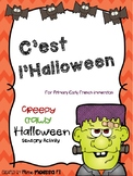 Halloween Sensory Activity for Primary French Immersion