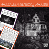 Halloween Creative Writing: Sensory Details Mad-libs