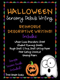 Halloween Sensory Details Writing Activity!