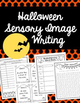 Halloween Sensory Image Writing Activity