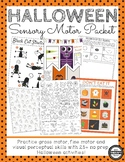 Halloween Sensory Motor Packet - Fine, Gross and Visual Motor Activities