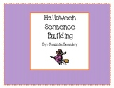 Halloween Sentence Building