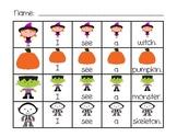 Halloween Sentence Building Activities for Kindergarten and First Grade