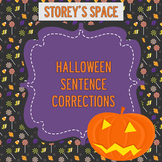 Halloween Sentence Corrections: Punctuation Review Worksheet