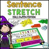 Halloween Sentence Writing | Sentence Building Activity
