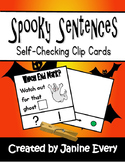 Halloween Spooky Sentences - End Marks Punctuation