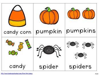 Halloween Sentences  {Pocket Chart Stations}