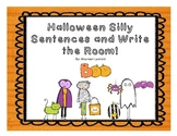 Halloween Sentences & Write the Room!