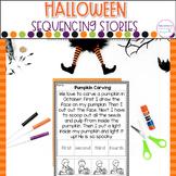 Halloween- Sequencing Stories
