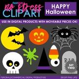 Halloween Set 2 Clip Art (Digital Use Ok!)
