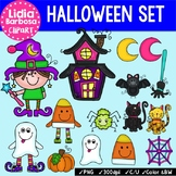 Halloween Set { Clip Art for Teachers }