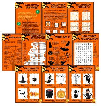 Halloween Set - worksheet, activities and fun!