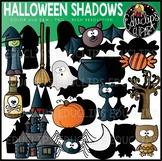 Halloween Shadows Clip Art Set {Educlips Clipart}