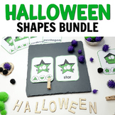Halloween Shapes Bundle for Hands-on Activities or Centers