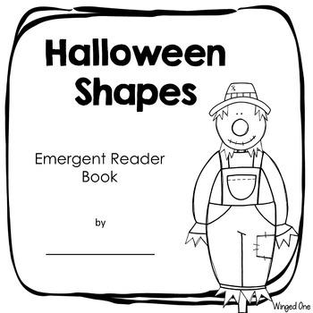 Halloween Shapes {Emergent Reader Book}