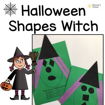Halloween Shapes Witch
