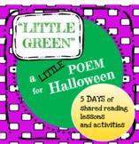 Halloween Shared Reading Poem