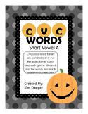 Halloween Short A CVC Sort