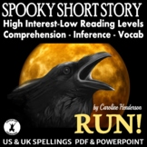 Halloween Short Story Comprehension and Inference