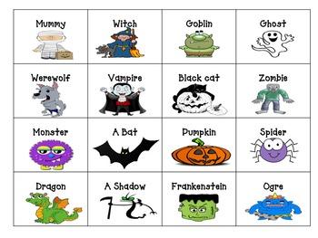 Halloween Short Story Writing Center