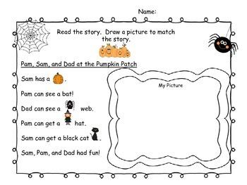 Halloween Short Vowel Activities