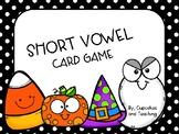 Halloween Short Vowel Card Game