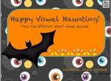 Halloween Short Vowel Literacy Center