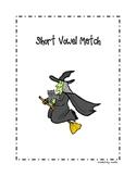 Halloween Short Vowel Match