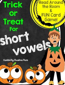 Halloween Short Vowel CVC