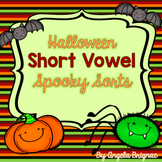 "Halloween Short Vowel ""SPOOKY Sorts"" {Word Family Practice}"