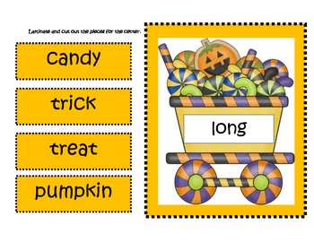 Halloween Short and Long Vowel Word Sort Center Freebie of the Week