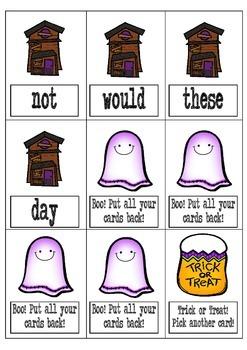 Halloween Sight Word BOO!