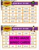 Halloween Sight Word Bingo 2 - Fry's Instant Words Second