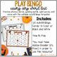 EDITABLE Halloween Sight Word Bingo