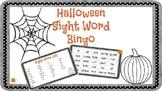 Halloween Sight Word Bingo