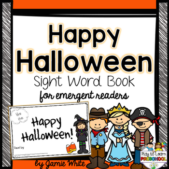 Halloween Sight Word Book