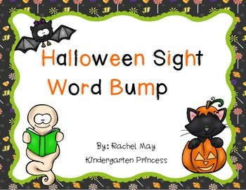 Halloween Sight Word Bump