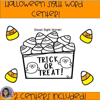 Halloween Sight Word Center