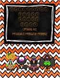 Halloween Sight Word Dash