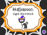 Halloween Sight Word Hunt