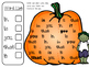 Halloween Sight Word Hunt & Build and Write Activity