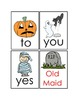 Halloween Sight Word Old Maid