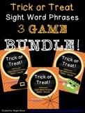 Halloween Sight Word Phrase Game 3 Set BUNDLE!!!